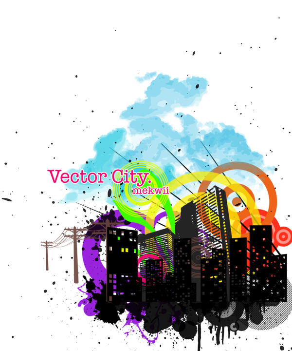 Vector City. by mekwii