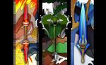 Sinnoh Starters Final Evolution