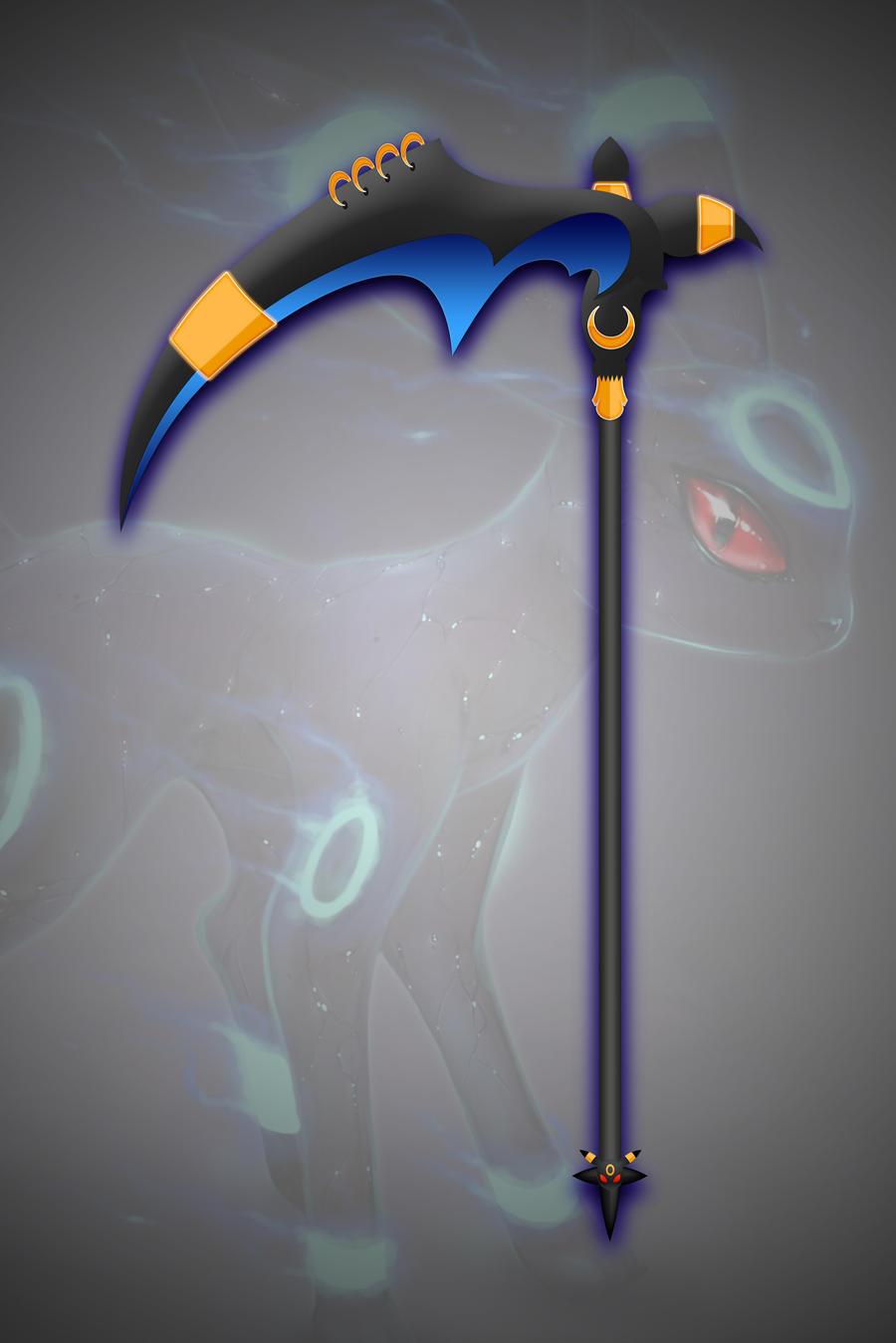 Reversed Gijinka: Umbreon by darkheroic