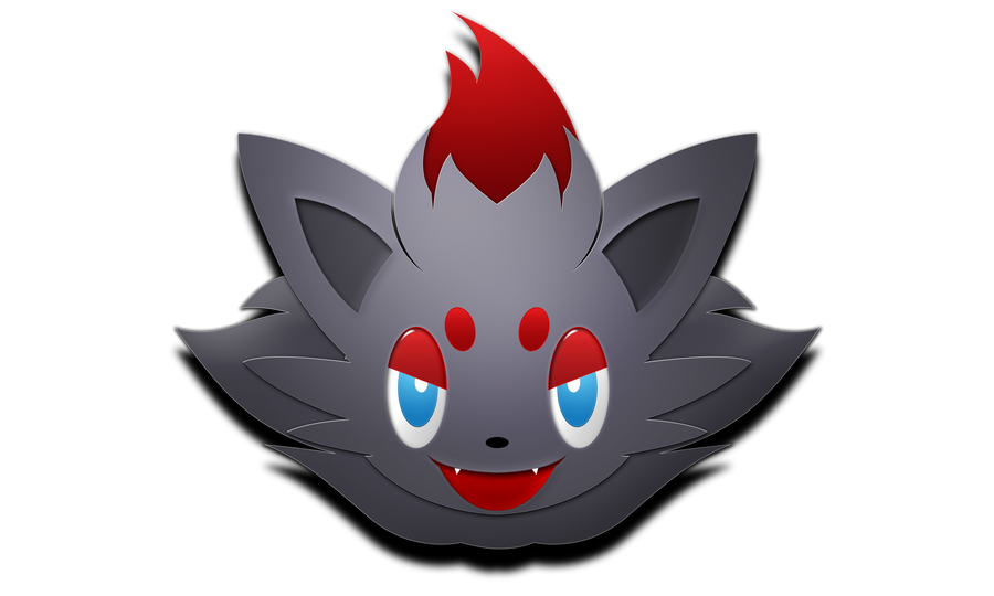 Free Zorua logo by darkheroic