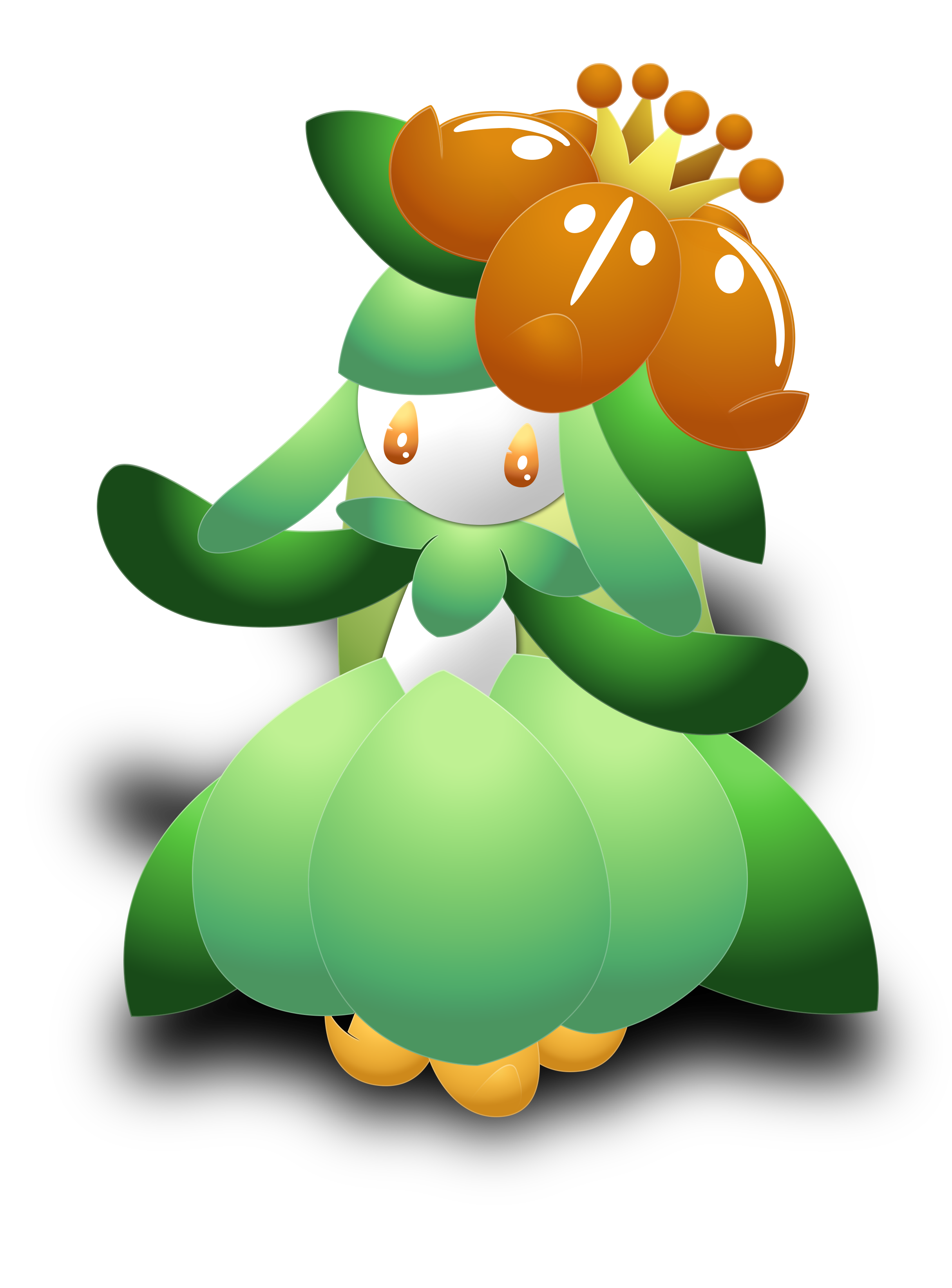 Lilligant by darkheroic