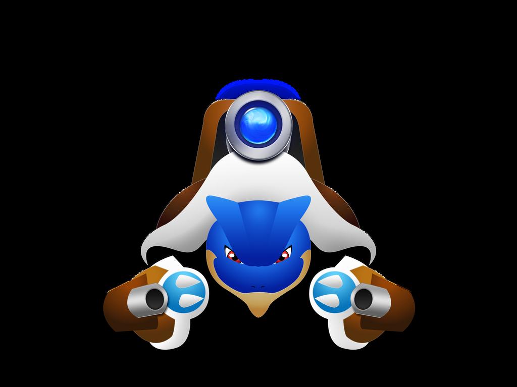 Mega Blastoise by darkheroic