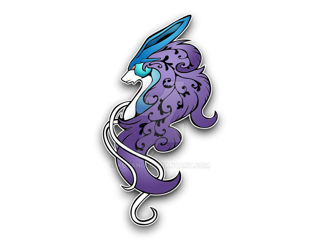 Suicune by darkheroic