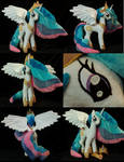My Little Pony Princess Celestia Plushie