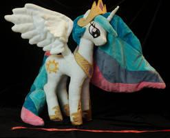 Princess Celestia size reference by WhiteHeather