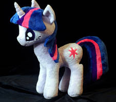 My Little Pony Twilight Sparkle Plushie by WhiteHeather