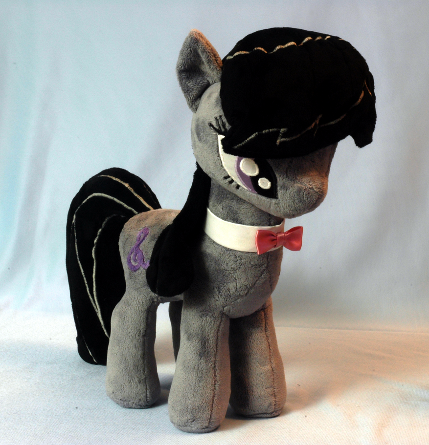 My Little Pony Octavia Plushie by WhiteHeather