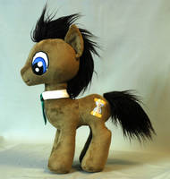 My Little Pony Doctor Whooves Plushie by WhiteHeather