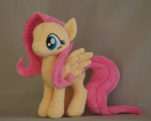My Little Pony Fluttershy Plushie by WhiteHeather