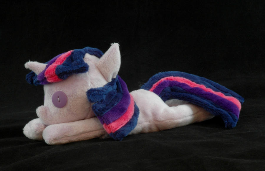 Beanie Baby Twilight Sparkle Plushie by WhiteHeather