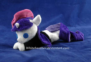Beanie Beatnik Rarity Plushie by WhiteHeather