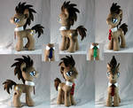 Doctor Whooves Plushie version 2.0