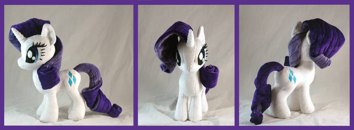 Rarity plushie