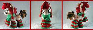 Spirit Pony Plushie by WhiteHeather