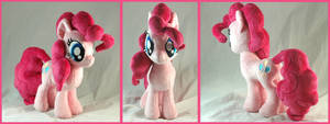 Pinkie Pie Plushie by WhiteHeather