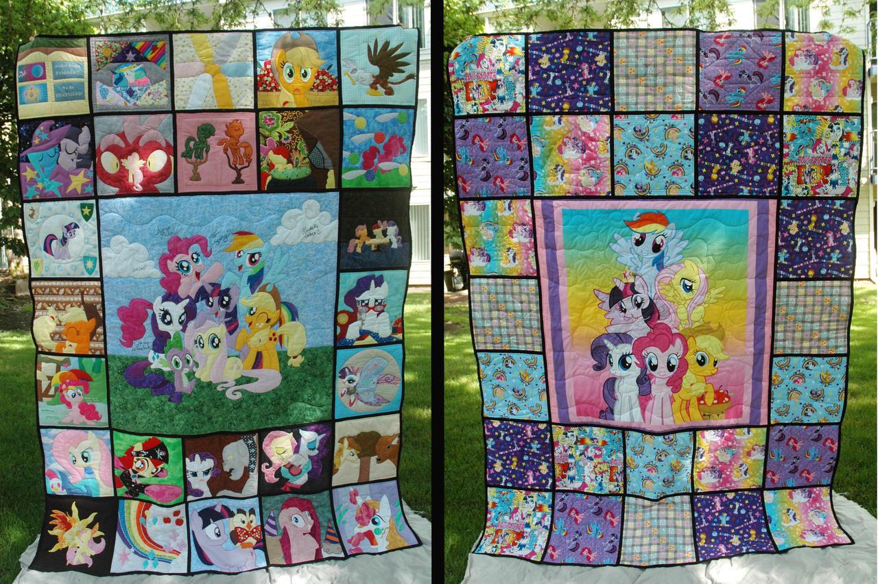 Pony Quilt favourites by valleyviolet on DeviantArt : pony quilt - Adamdwight.com
