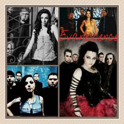 Evanescence collage
