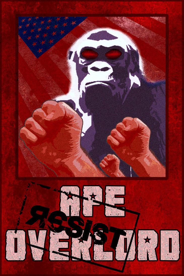 Ape Overlord: Resist by SpaceHeroStudios
