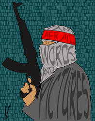 Charlie Hebdo by SpaceHeroStudios