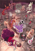 Alice In Wonderland by karookaroo