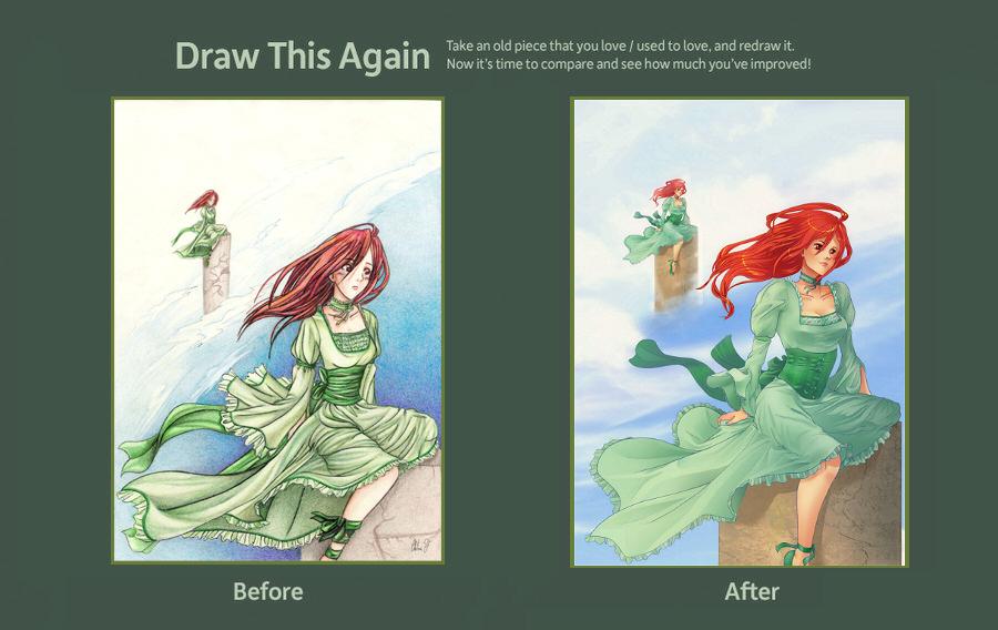 Draw this Again: Endless by karookaroo