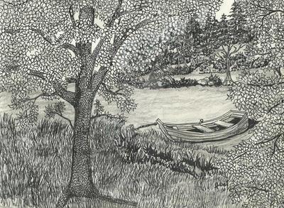 Fishing Hole by Binary-Kid