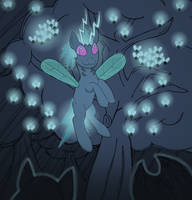 Twittermite Queen by robbieagray
