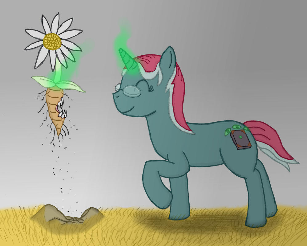 Picking... Flowers? by robbieagray