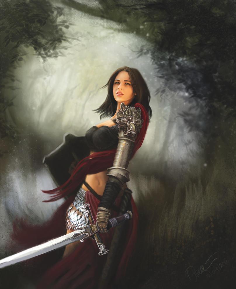 Concetta Warrior by farooky