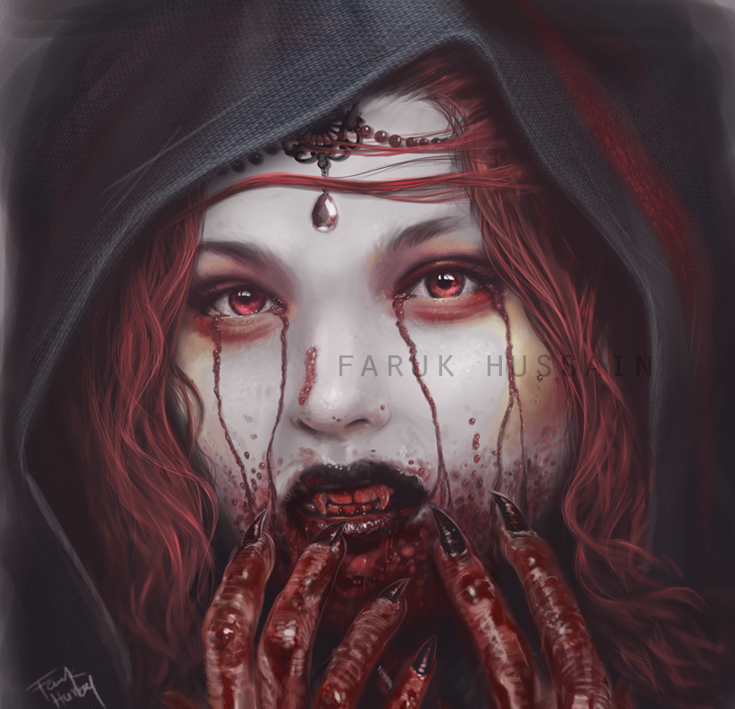 Blood thirsty vampire by farooky