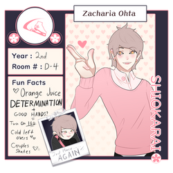 Zacharia Ohta .:SH:.