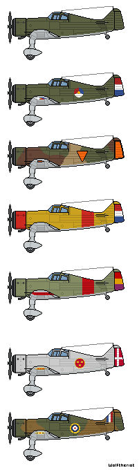 Fokker V.XXI Different Paint Schemes,FD scale