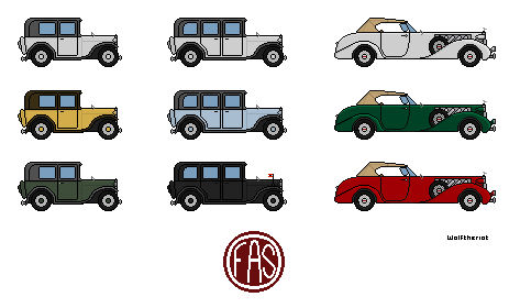 F.A.S Vehicle Collection(Number:1)