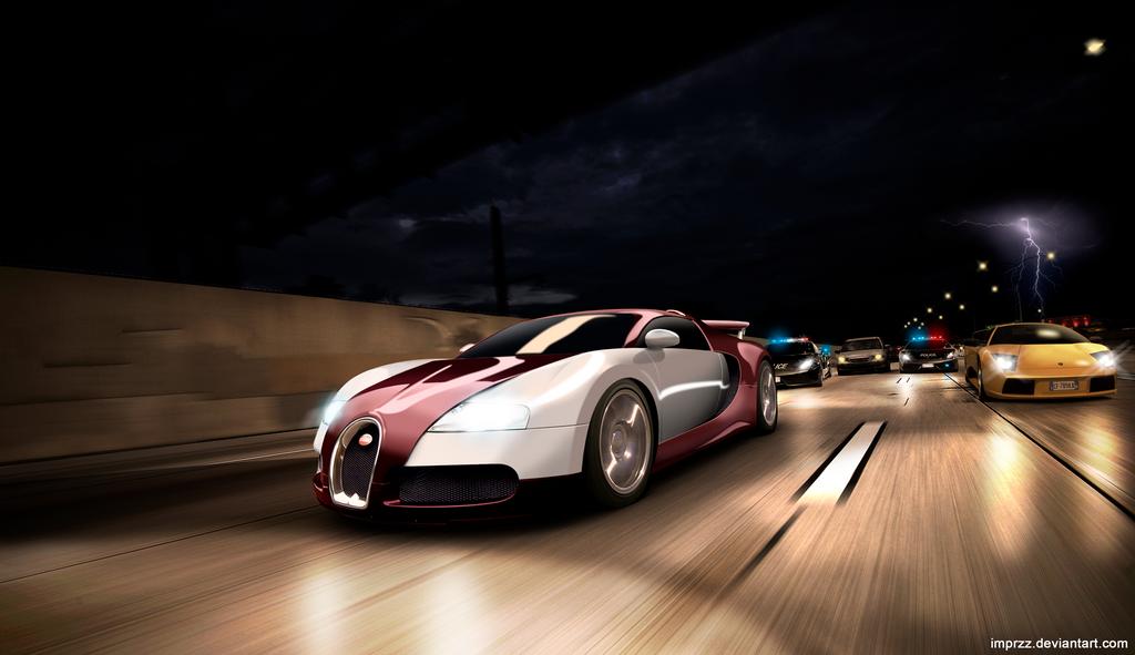 Bugatti vs Lamborghini by imprzz on DeviantArt