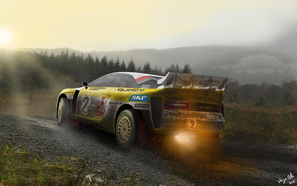 Audi Quattro WRC by imprzz