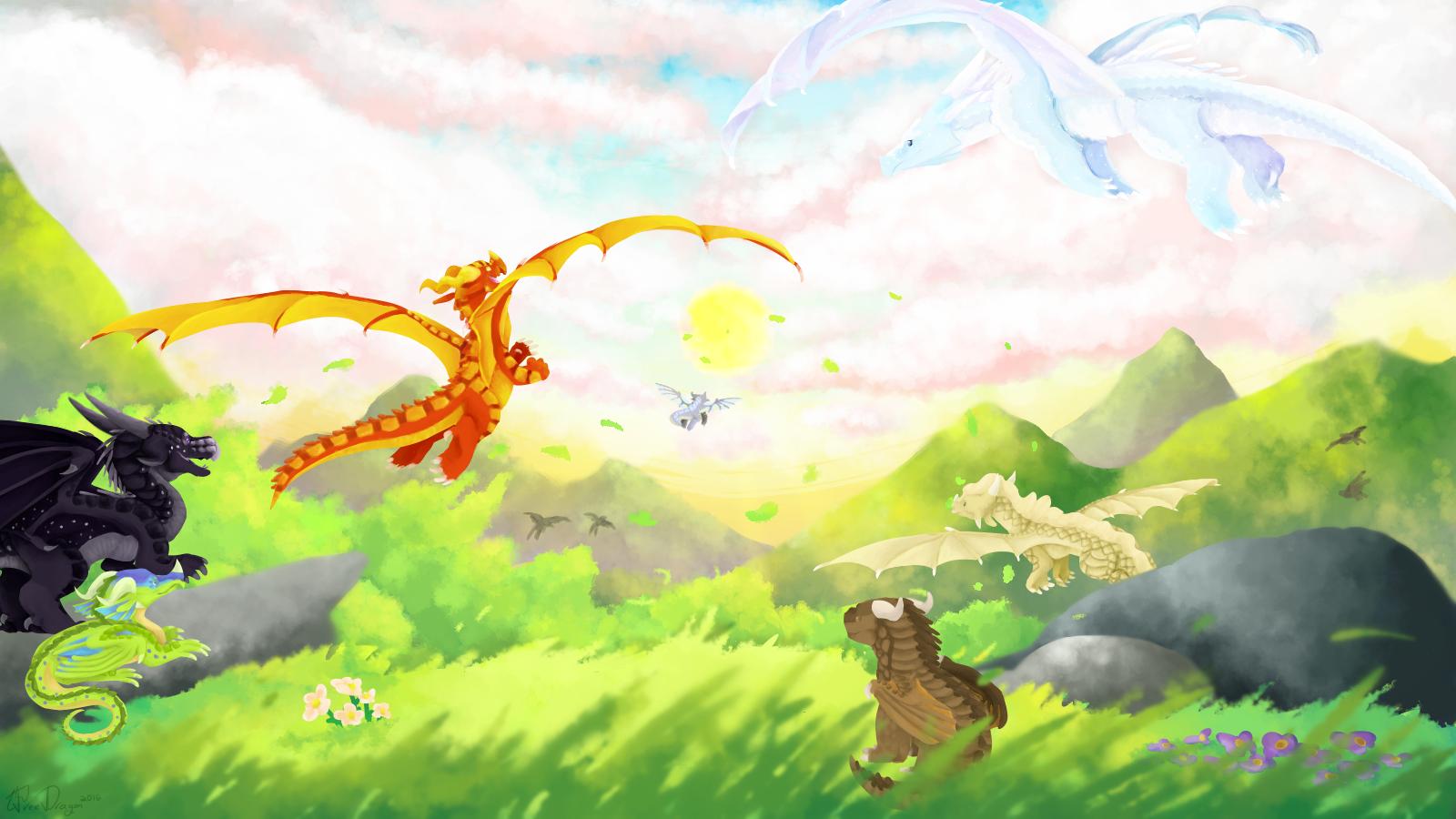wings of fire fanon by thetreedragonbiscuit on deviantart