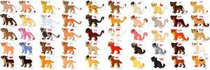 Cheap Big Cat Adoptables (Open)