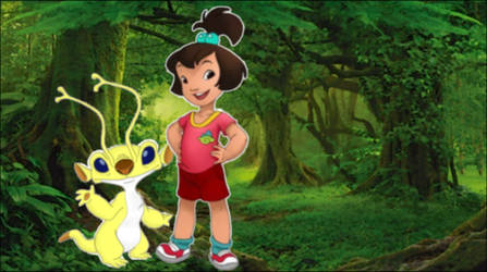 Sparky and Ai in the amazonic forest - RAW
