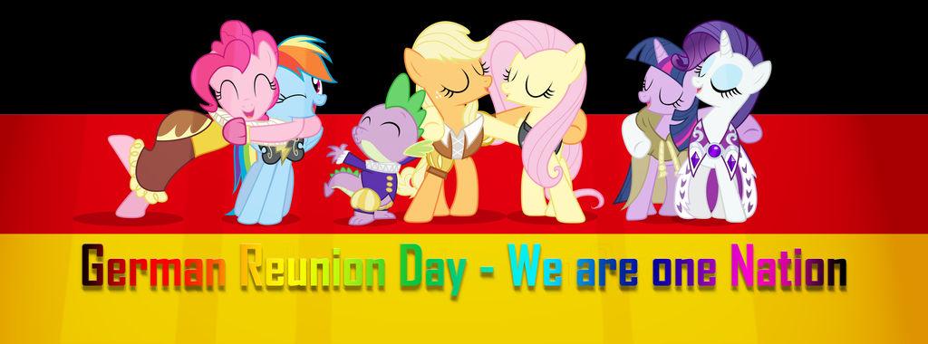 MLP: German Reunion Day