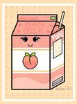 Happy Peach Milk