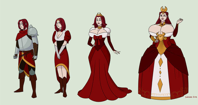 CMSN - Knight to Empress gender transformation