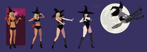 Basic Bitch to Sexy Witch goth transformation