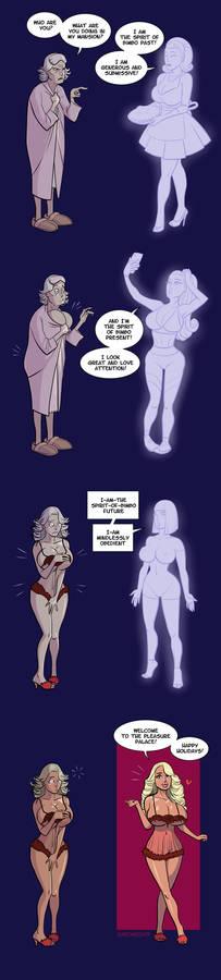 Bimbo Spirits [bimbofication transformation]