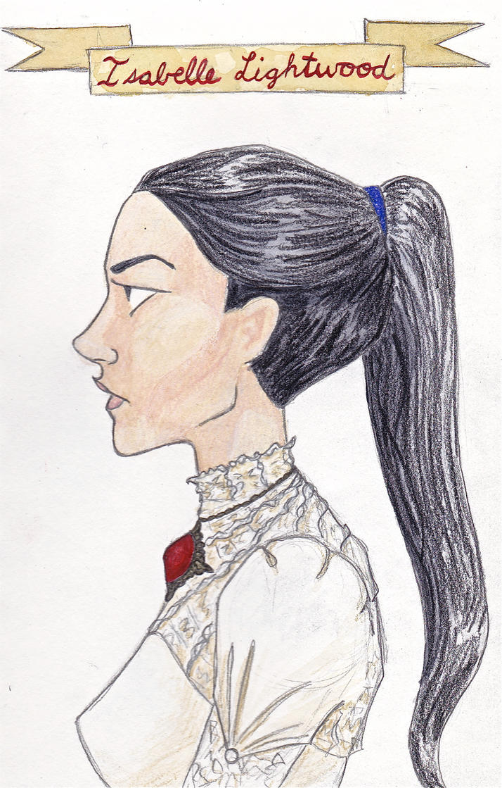 how to draw isabelle lightwood