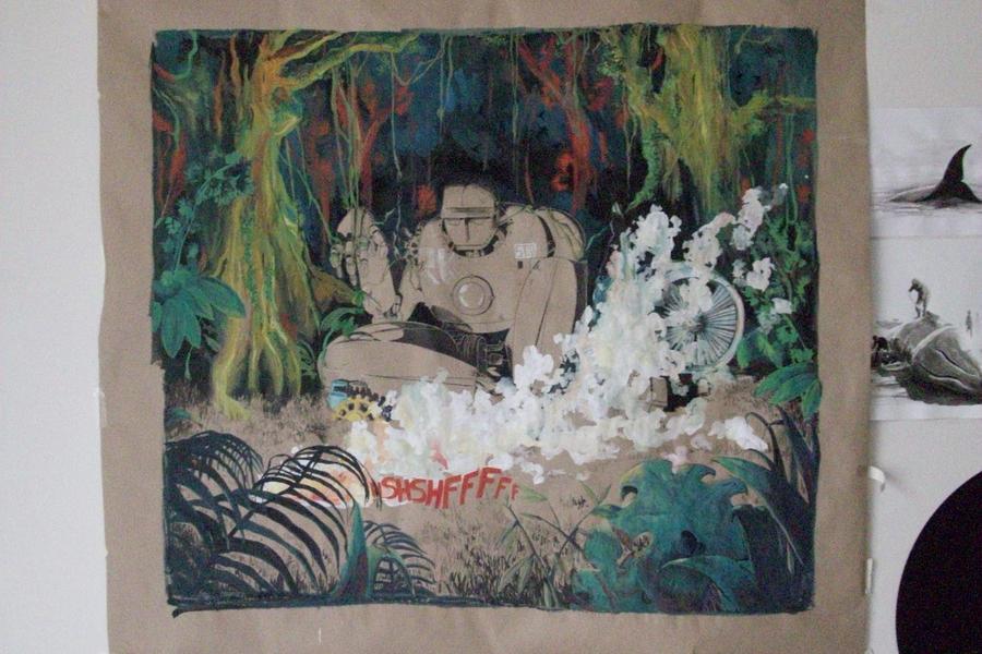Metal Tarzan by Cegun