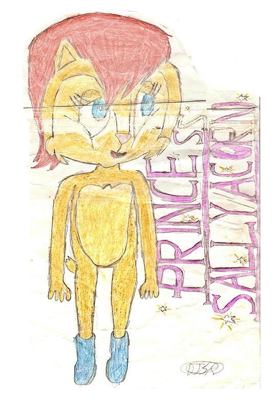 Princess Sally Acorn by DeverexDrawer