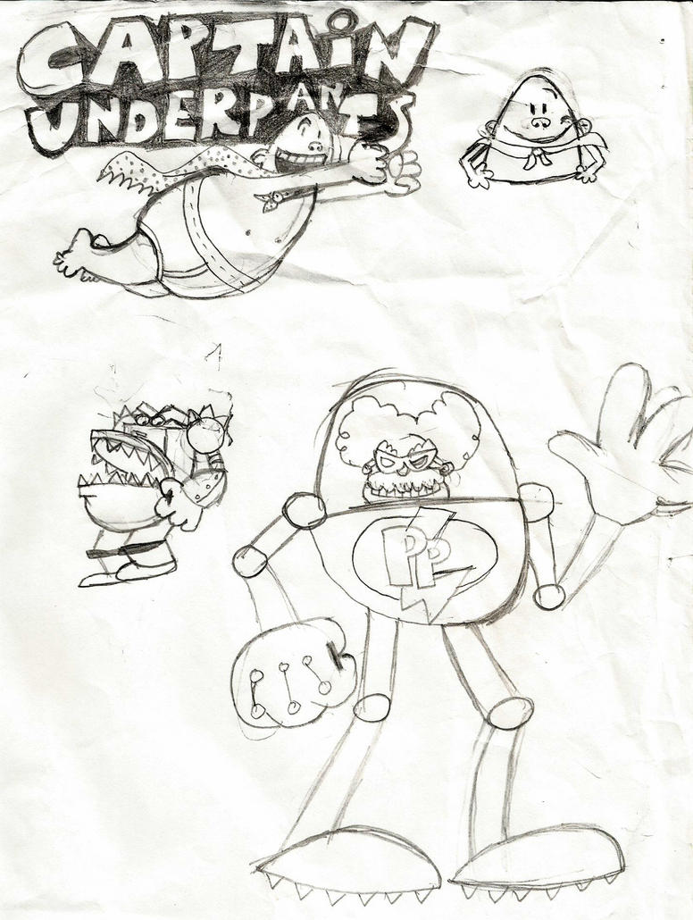 Captain Underpants by DeverexDrawer