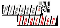 Please (Onegai) teacher logo (White Glasses ver.) by DeverexDrawer