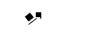 Toby logo: white hat (for black background) by DeverexDrawer