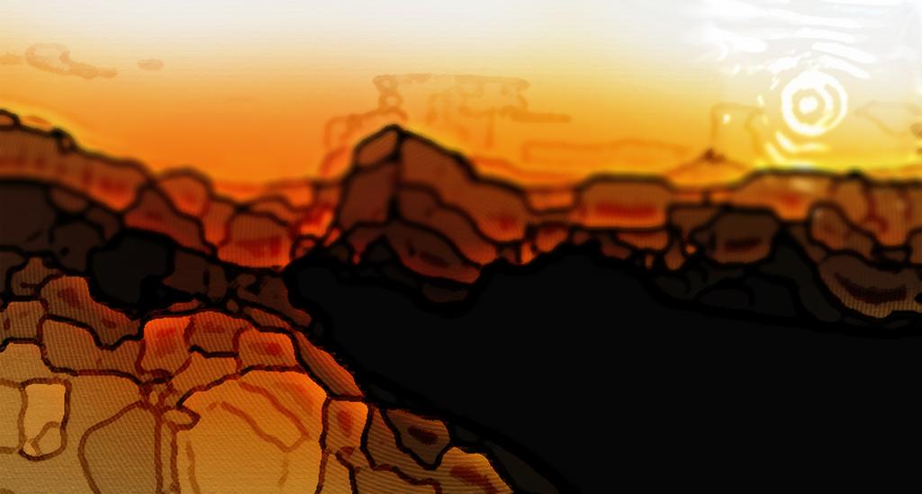 Climbing the Cliffs 2 | Tilt Shift Background by DeverexDrawer